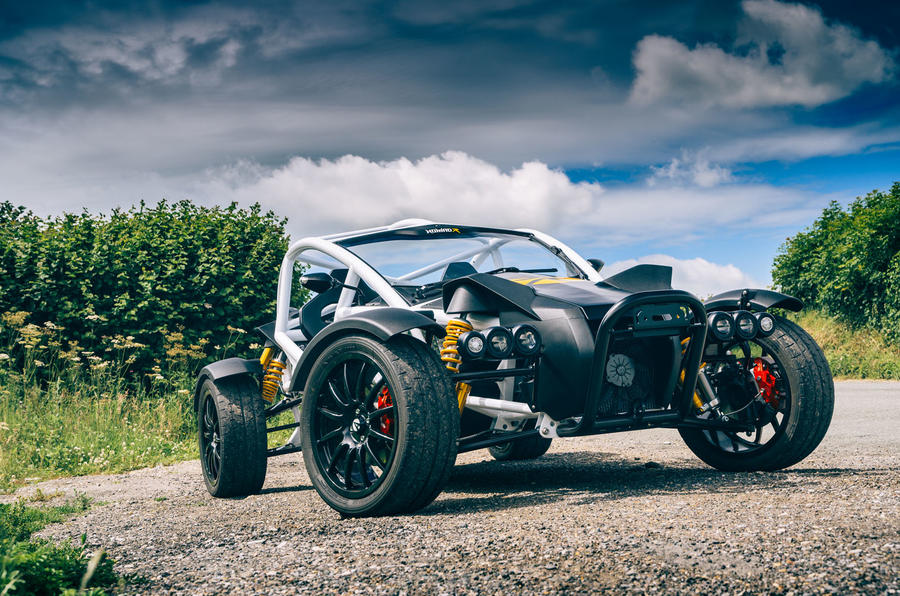 Ariel Nomad R 2020 UK first drive review - static