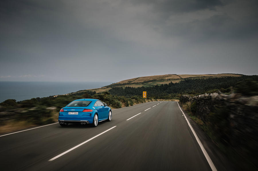 Audi TTS 2018 first drive review Isle of Man