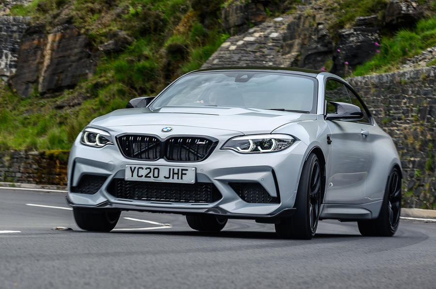 BMW M2 CS 2020 UK first drive review - on the road front