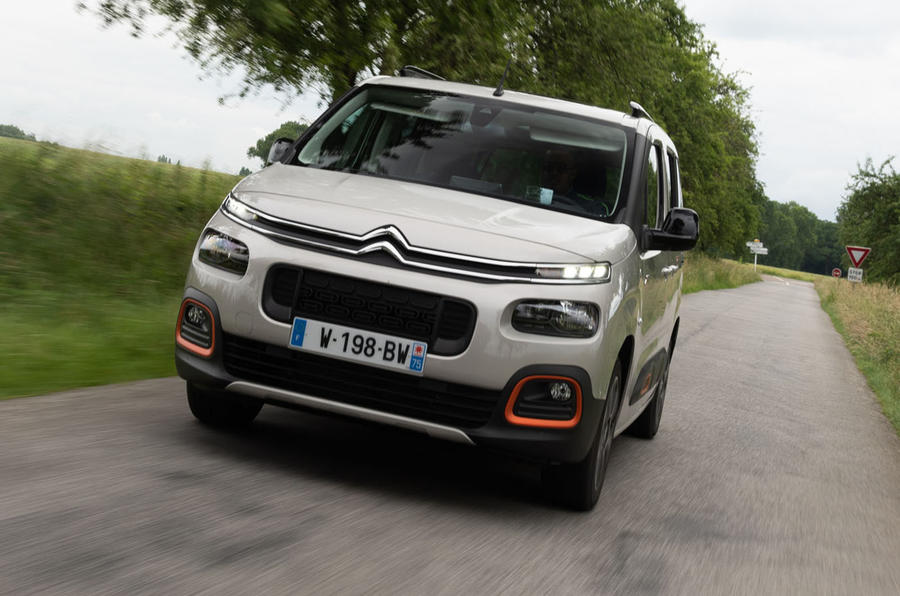 Citroen Berlingo 2018 first drive review on the road front