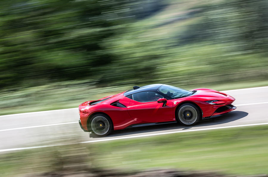 Ferrari SF90 Stradale 2020 first drive review - on the road side