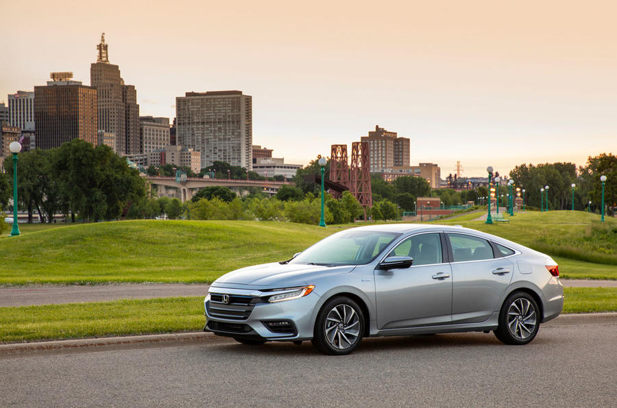 Honda Insight 2019 first drive review - static front