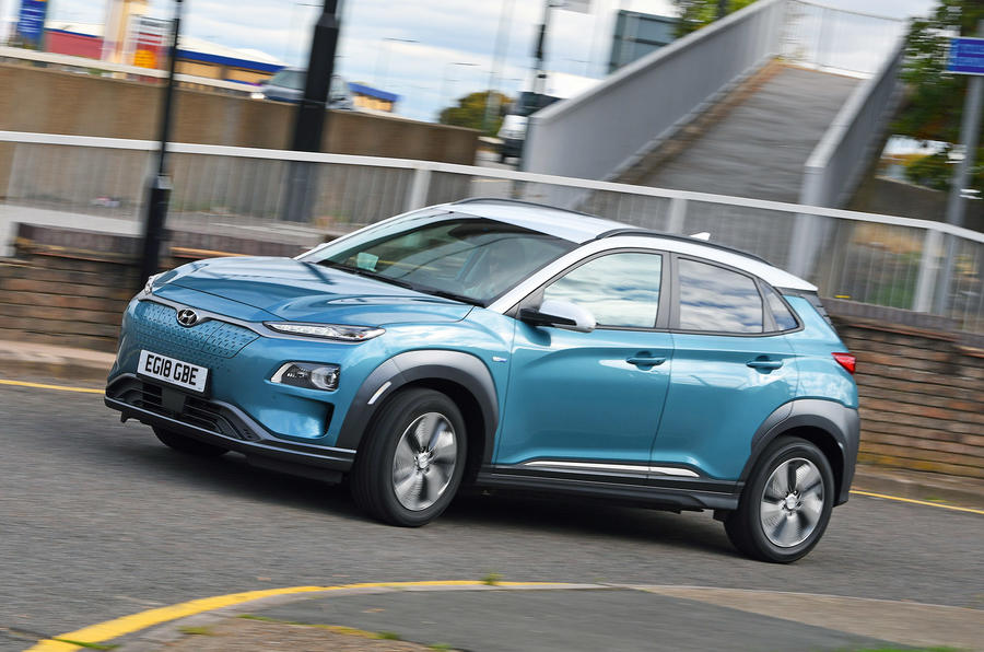 Hyundai Kona Electric - hero front