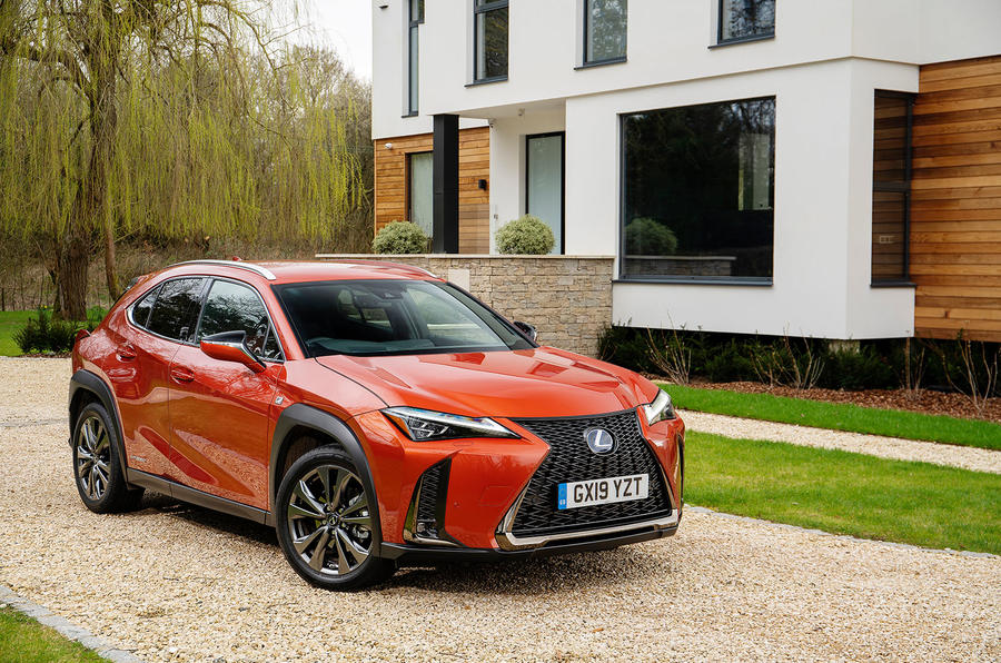 Lexus UX 2019 UK first drive review - static front