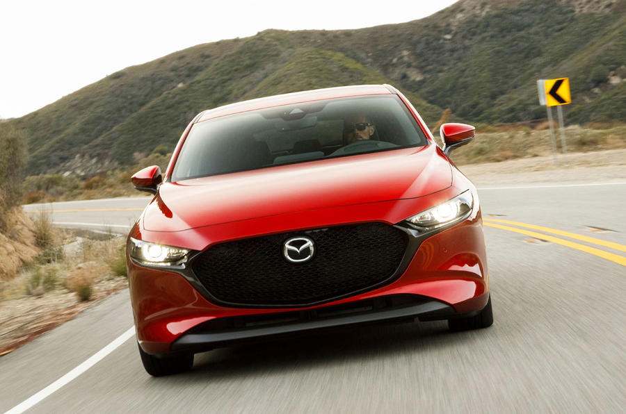 Mazda 3 2.0 Skyactiv-G 2019 first drive review - on the road nose