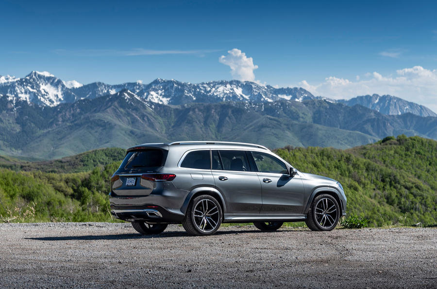 Mercedes-Benz GLS 400D 2019 first drive review - static rear