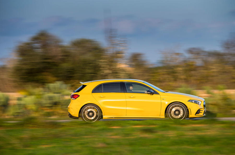 Mercedes-AMG A35 2018 first drive review - on the road right