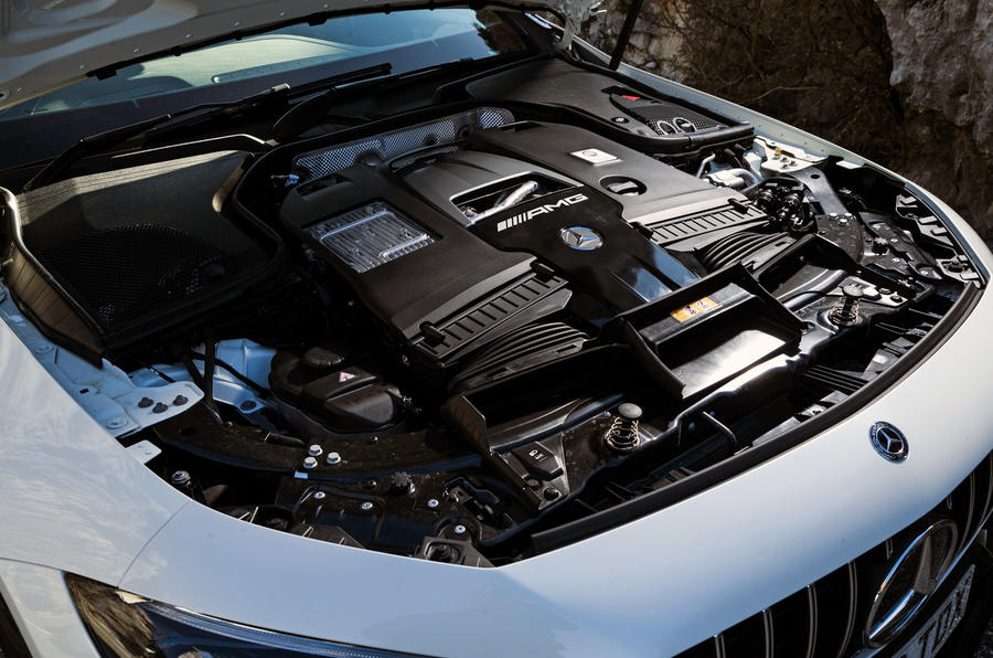 Mercedes-AMG GT 63 S Coupe - engine