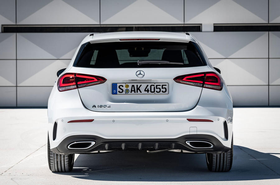 Mercedes-Benz A-Class A180D static rear