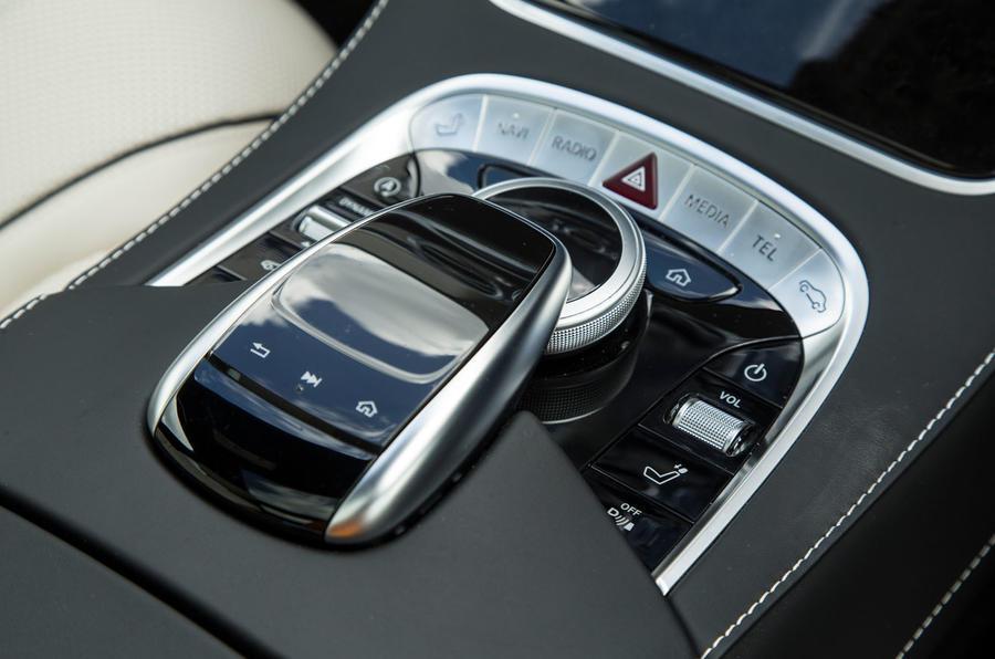 Mercedes-Benz S-Class S500L 2018 long-term review - centre console