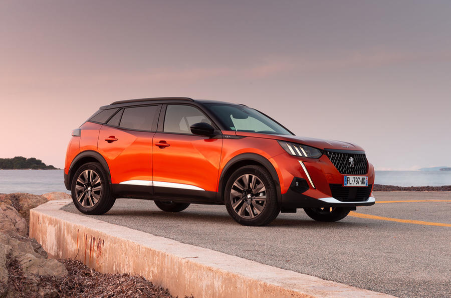 Peugeot 2008 2020 first drive review - static front