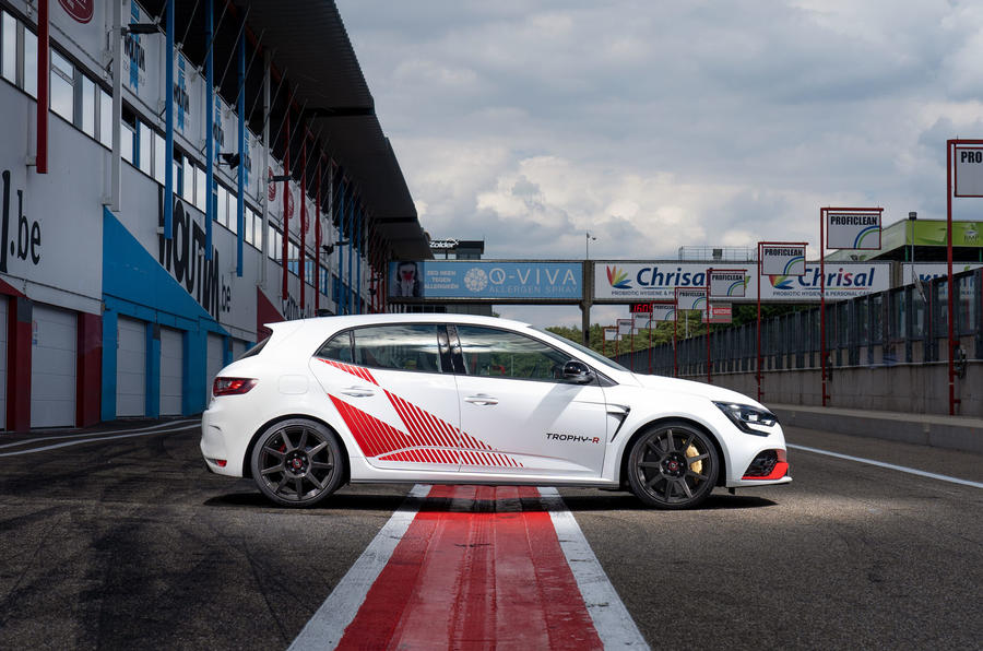 Renault Megane Trophy R 2019 first drive review - static side