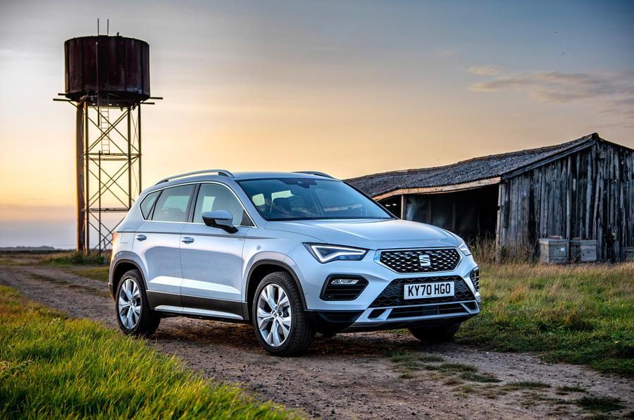 Siège Ateca Xperience 2020 : premier bilan de la conduite au Royaume-Uni - statique