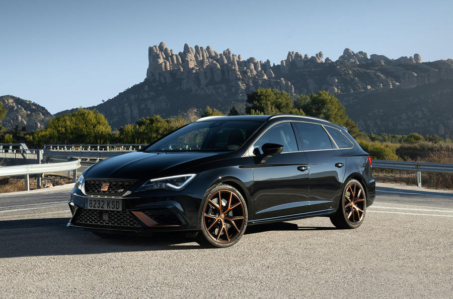 Seat Leon Cupra R ST 2019 first drive review - static front