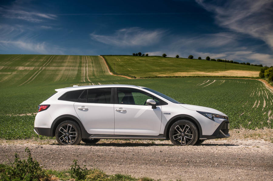 Toyota Corolla Trek 2020 UK first drive review - static side