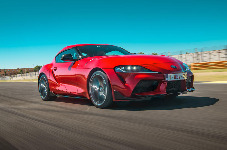 Toyota GR Supra 2019 first drive review - track front