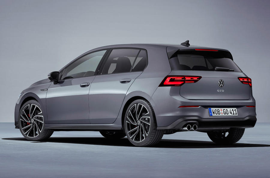 Volkswagen Golf GTD 2020 - stationary rear