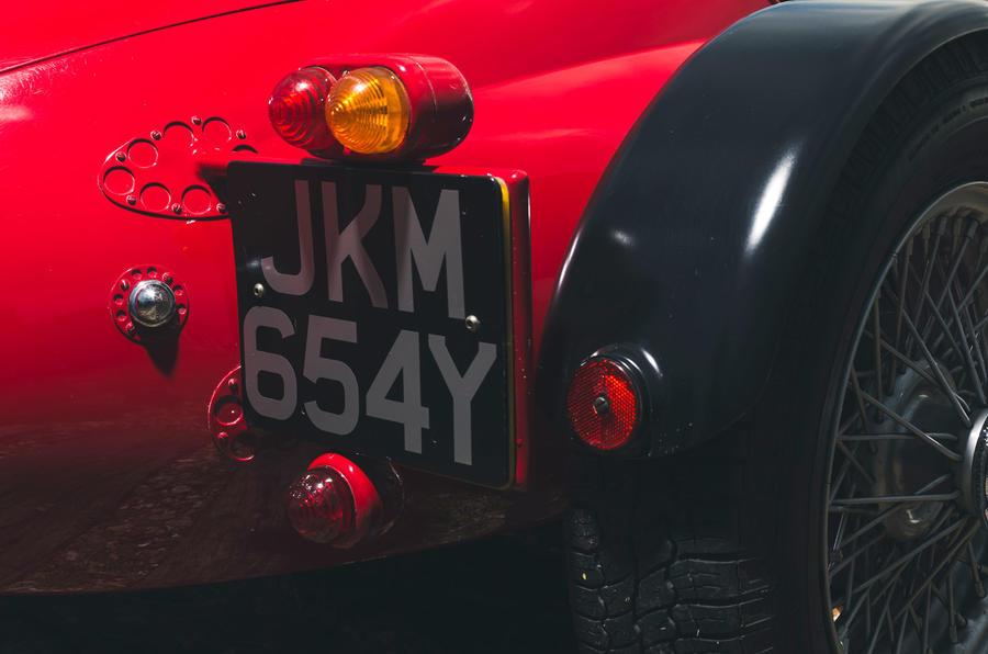 John Nash kit car 2020 - number plate