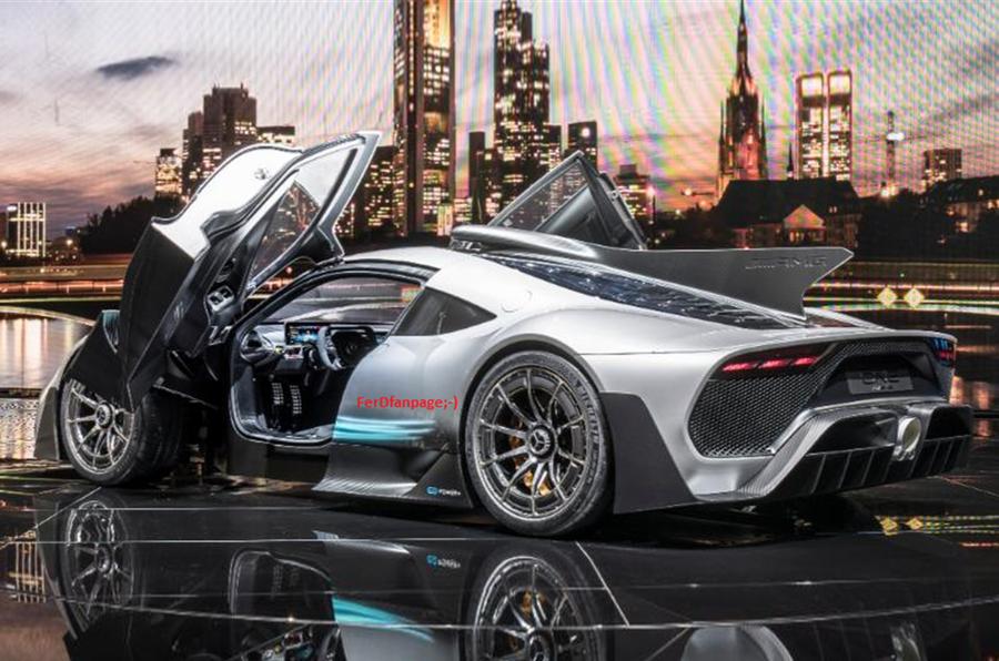 Mercedes-AMG hypercar leaks ahead of Frankfurt motor show ...
