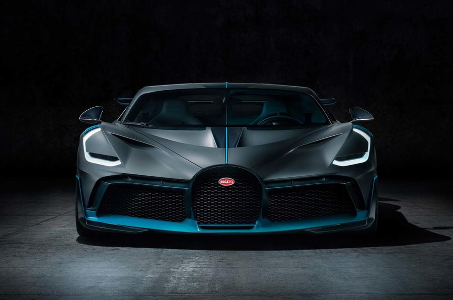 Bugatti Divo front close