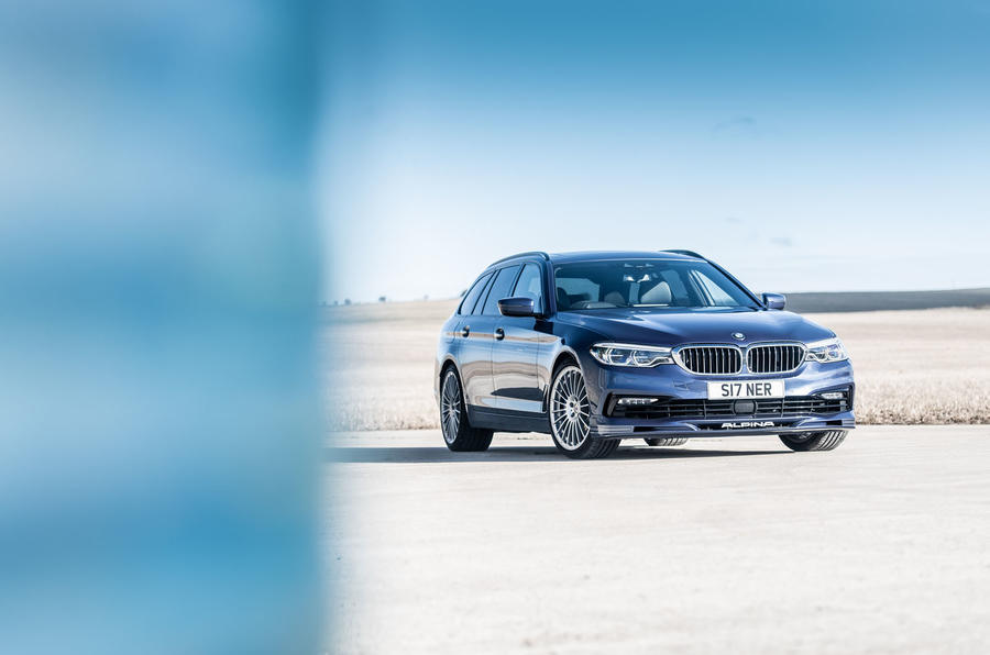 Alpina B5 Touring 2018 UK first drive review - static front