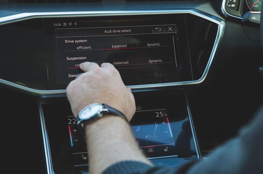 Audi A6 2018 long-term review - suspension settings