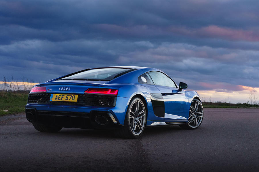 Audi R8 RWD 2020 UK first drive review - static
