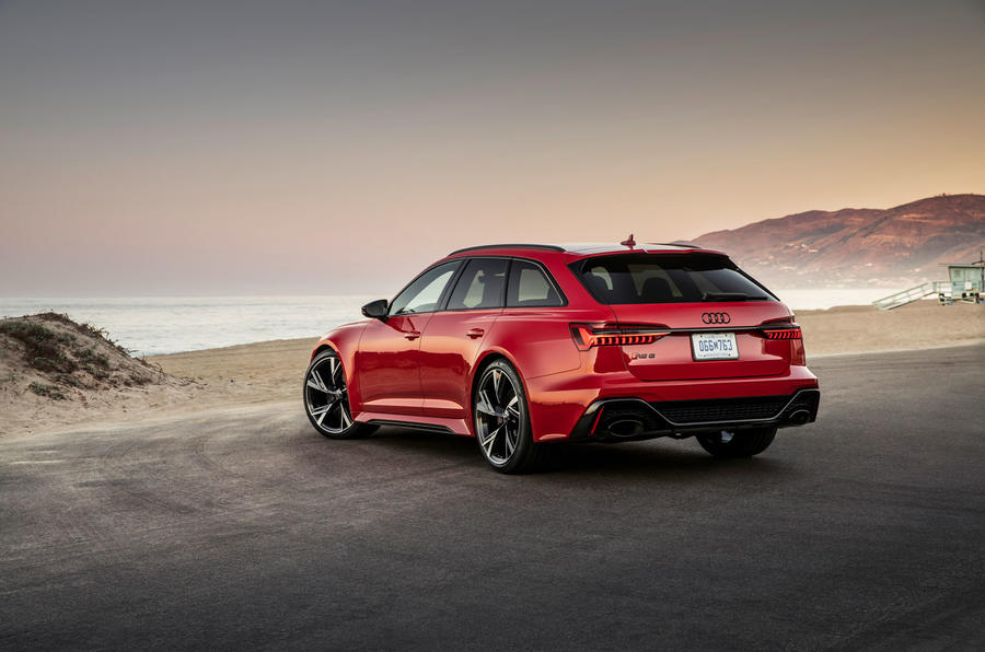 Audi RS6 Avant 2019 first drive review - static rear