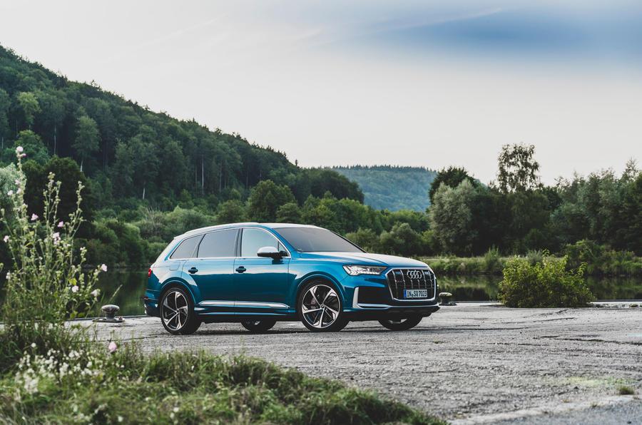 Audi SQ7 2020 : premier bilan de conduite - statique