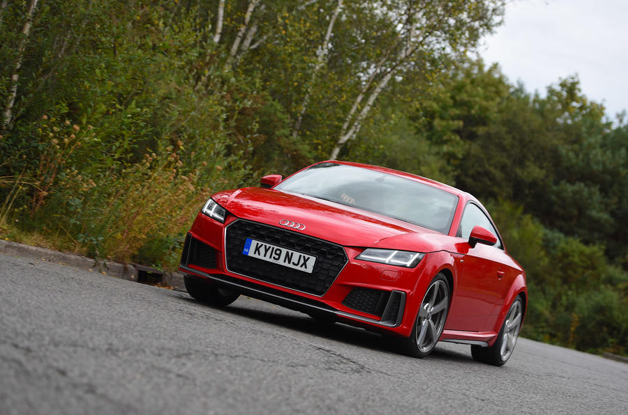 Audi TT Coupe - hero front