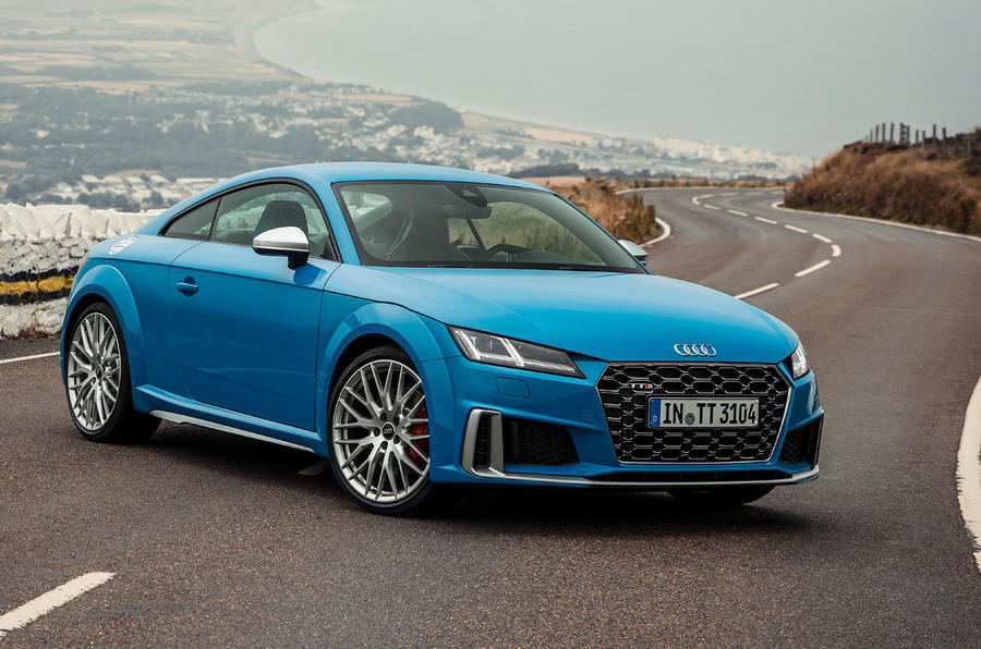 Audi TTS 2018 first drive review static front