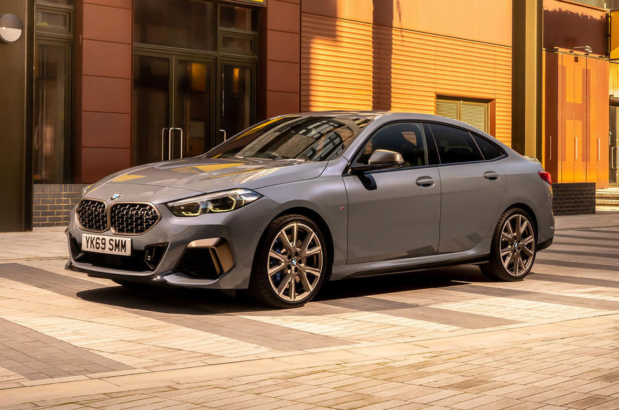 BMW 2 Series Gran Coupe M235i 2020 UK first drive review - static front