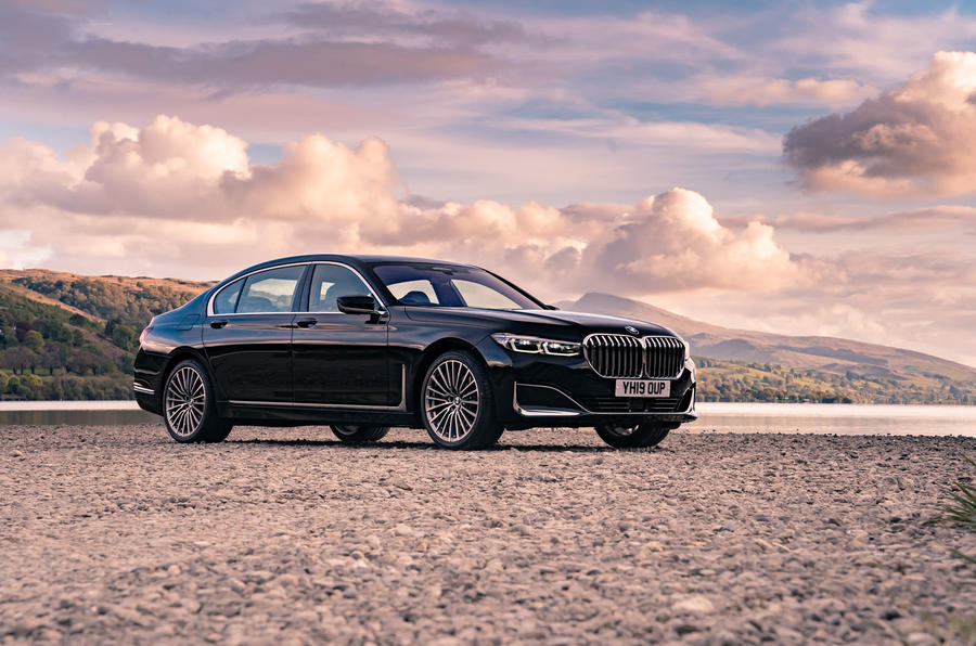 BMW 7 Series 730Ld 2019 UK first drive review - static front