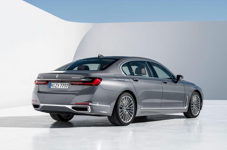 BMW 7 Series 750Li 2019 first drive review - static rear