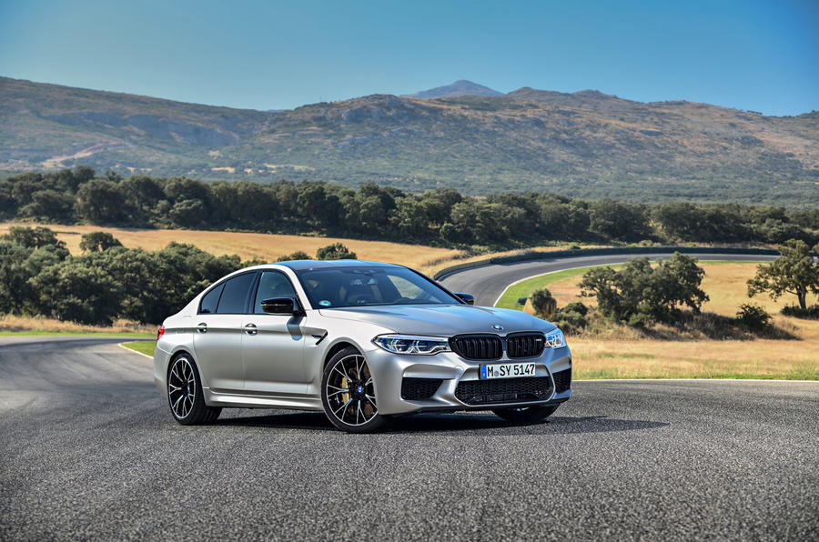 BMW M5 Competition 2018 first drive review static front