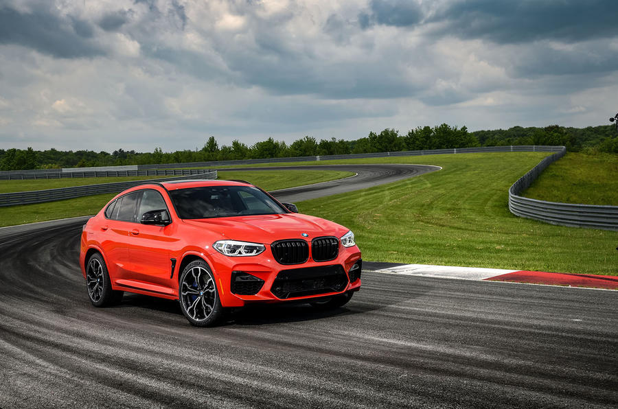 BMW X4 M Competition 2019 first drive review - static front