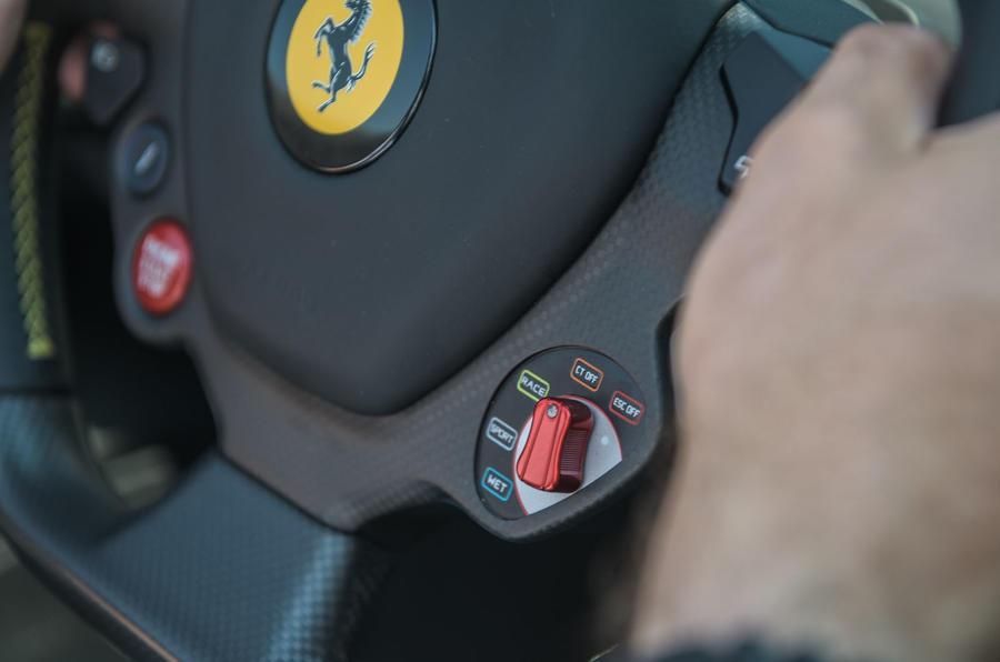 Ferrari 488 Pista Spider 2019 first drive review - drive modes
