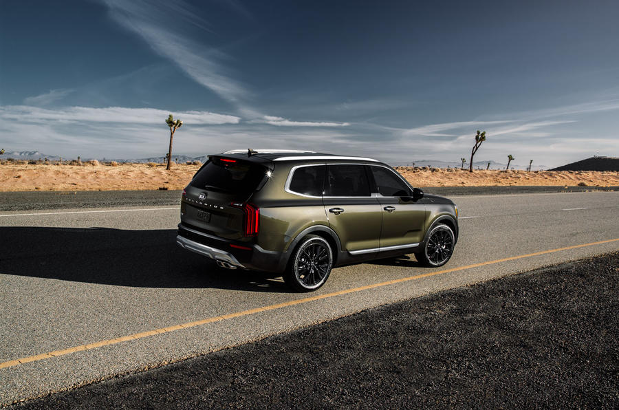Kia Telluride 2019 first drive review - static rear