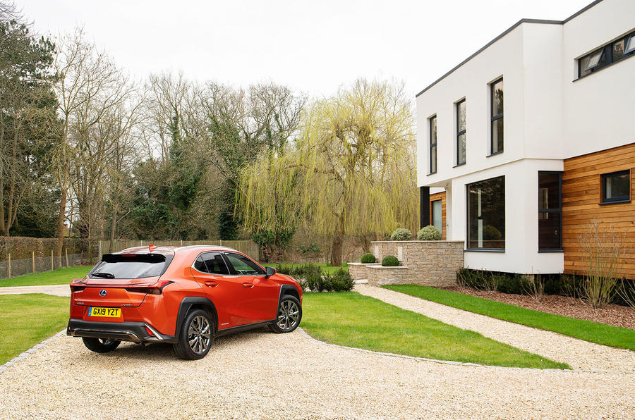 Lexus UX 2019 UK first drive review - static rear