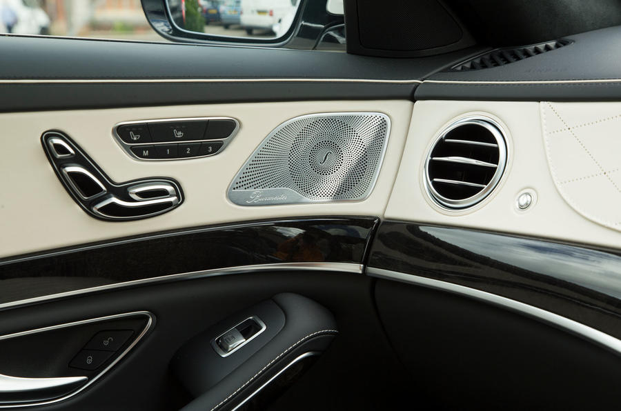 Mercedes-Benz S-Class S500L 2018 long-term review - door cards