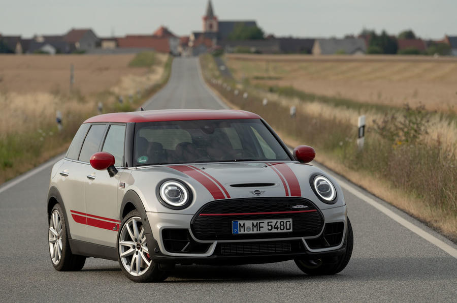 Mini Clubman John Cooper Works 2019 first drive review - static front