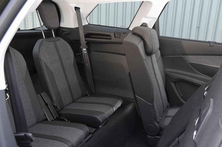 Peugeot 5008 2018 long-term review rear seats