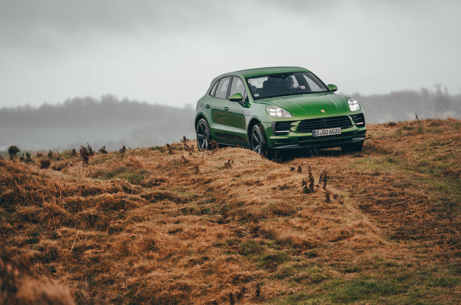 Porsche Macan 2019 first drive review - off road front