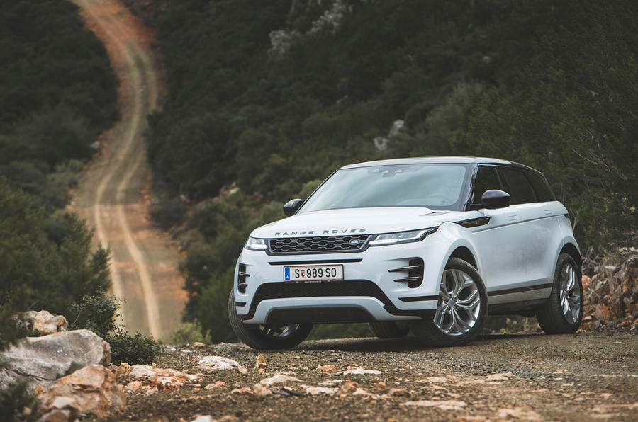 Range Rover Evoque 2019 first drive review - static front
