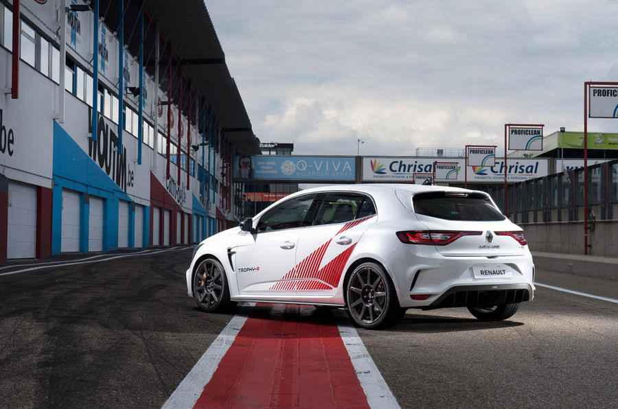 Renault Megane Trophy R 2019 first drive review - static rear