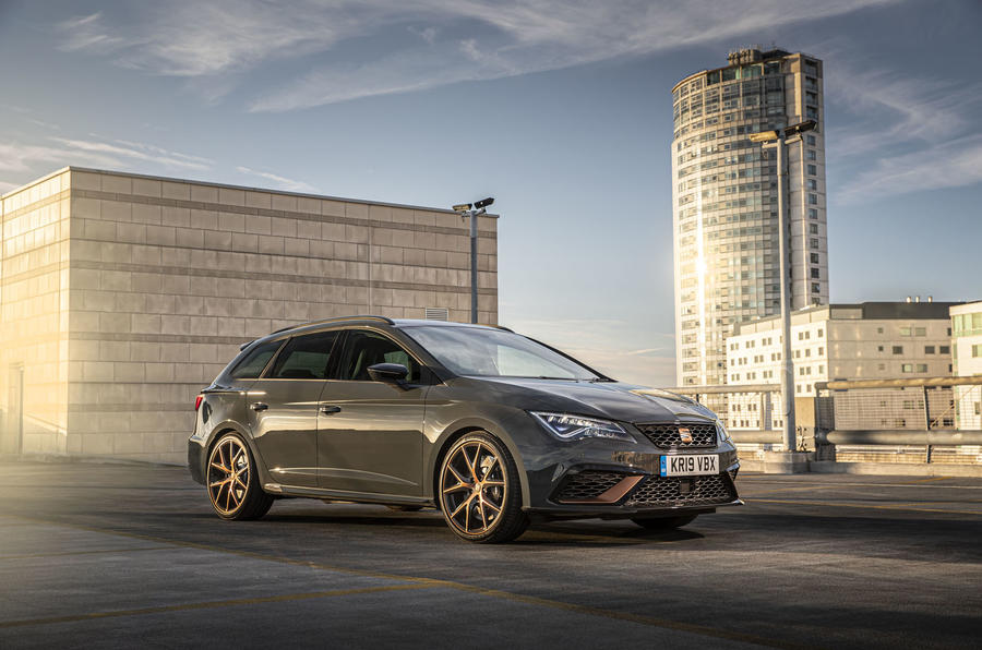 Seat Leon Cupra R ST Abt 2019 UK first drive review - static
