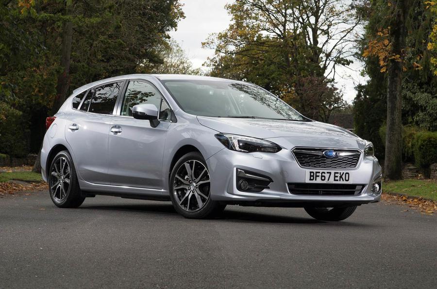Subaru Impreza 2018 UK review static front