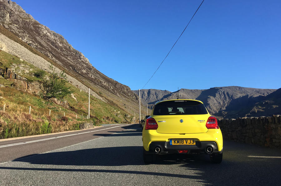 Suzuki Swift Sport 2018 long-term review mountain