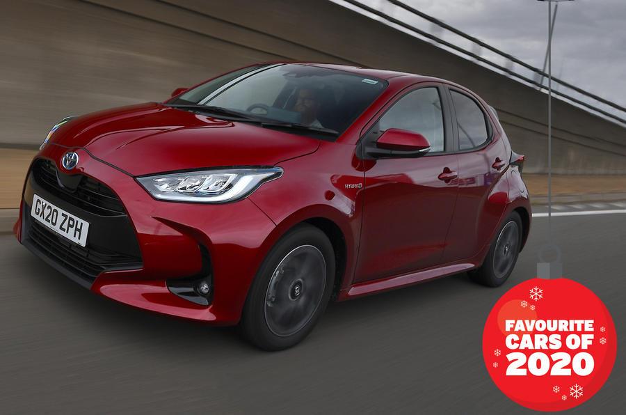 Autocar writers car of 2020: Toyota Yaris
