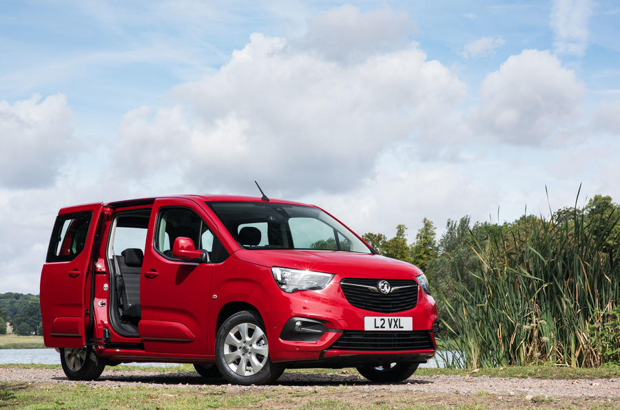 Vauxhall Combo Life 2018 UK first drive review static front